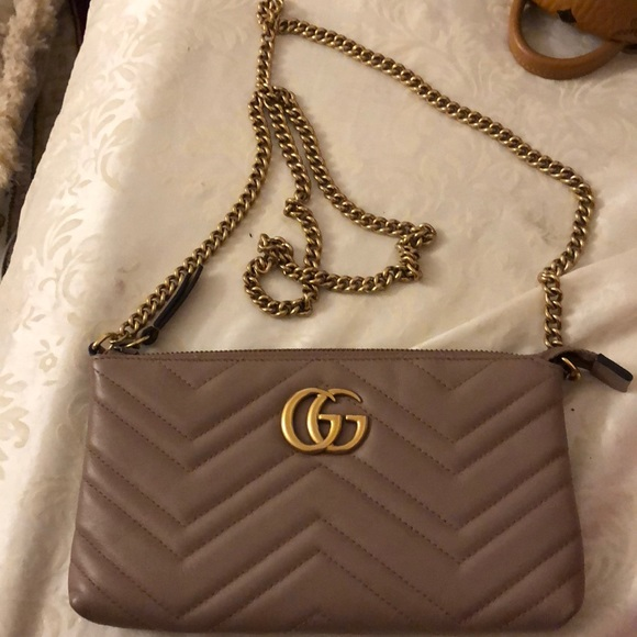 739a211224ce Gucci Bags | Wallet In Chain Bag Woc | Poshmark